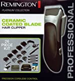 Remington HC-363 Hair Clipper Kit with Ceramic Coated Blade