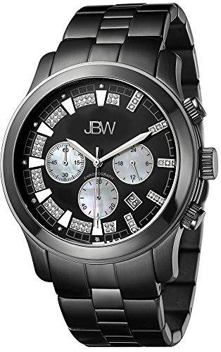 JBW Reloj Delano Negro Única