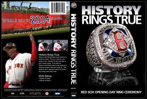 History Rings True - Red Sox Opening Day Ceremony Dvd