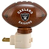 Oakland Raiders Football Night Light at Amazon.com