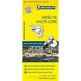 Carte Ardèche, Haute-Loire Michelin