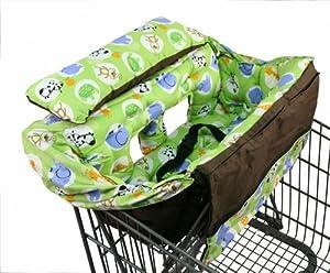 Amazon.com : Buggy Bagg Shopping Cart Cover Original, Safari : Baby