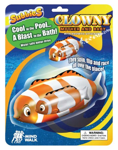 Clowny Clownfish And Baby Water Toy