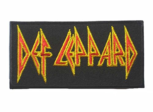 "Def Leppard Music Rock Metal Sew Iron On Patch Badge Embroidery 5X10 Cm 2""X4"" Ms-36"