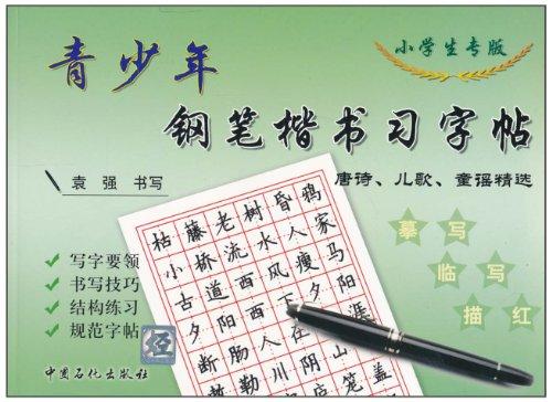 青少年钢笔楷书习字帖(小学生专版)图片