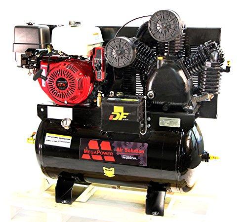 13 HP Honda GX390 Truck Mount Air Compressor 30 Gallon w Battery Tray MP-13030G (Gas Air Compressor 30 Gallon compare prices)