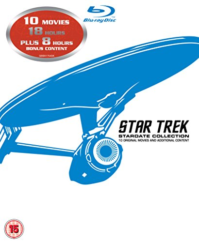 Star Trek Stardate Collection Blu Ray 10 Movie Set REGION FREE