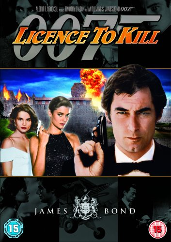 Bond Remastered - Licence To Kill (1-disc) [DVD] [1989]