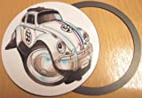 Koolart Vw Bettle Herbie Magnetic Tax Disc Holder 1608 Volkswagen