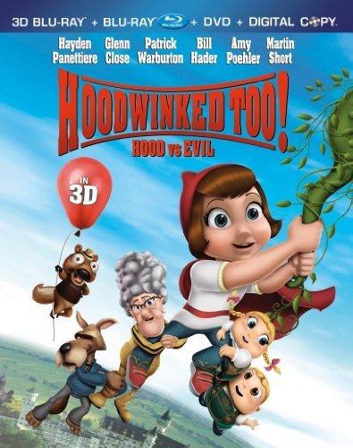 Hoodwinked Too! Hood vs. Evil (3D Blu-ray + Blu-ray + DVD + Digital Copy) by ANCHOR BAY