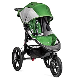 Baby Jogger Summit X3 Single Stroller Green