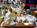 51rxZMeuE1L. SL160  Braderie, a French Car Boot Sale, Roscoff, Finistere, Brittany, France Photographic Poster Print by David Hughes, 24x32