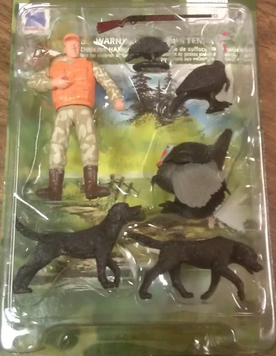Wild Hunting Turkey Action Figures