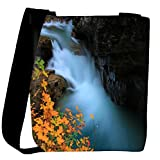 Snoogg Water Flowning In Great Force Designer Womens Carry Around Cross Body Tote Handbag Sling Bags