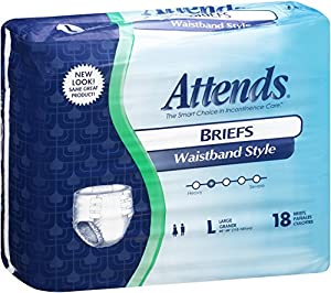 Attends Incontinence Care Briefs for Adults by Attends