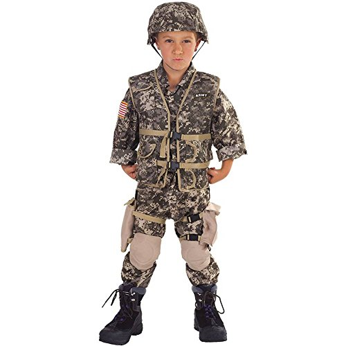 Army Ranger Deluxe Kids Costume