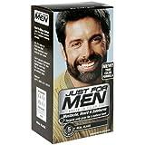 Just For Men Mustache & Beard Brush-in Color Gel Real Black M-55