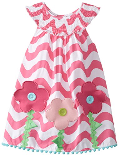 Mud Pie Baby Girl Sleeveless Casual Sun Dress (Mud Pie Easter Size 3t compare prices)