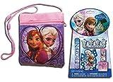 Disney Frozen Passport Bag & Frozen Nail Polish Kit with Elsa, Anna and Olaf
