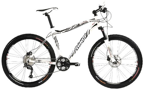 Schee Hiker Alverstone 700 Mens Bike - White, 23 Inch