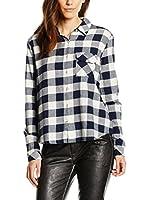LTB Jeans Camisa Mujer Liheta (Azul / Blanco)