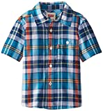 Levis Little Boys Woven Top Ensign Blue