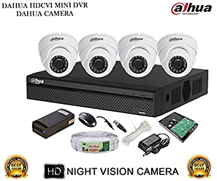 Dahua-DH-HCVR4104HS-S2-4CH-Dvr,-4(DH-HAC-HDW1000RP-0360B)-Dome-Camera-(With-Accessories,1TB-HDD)