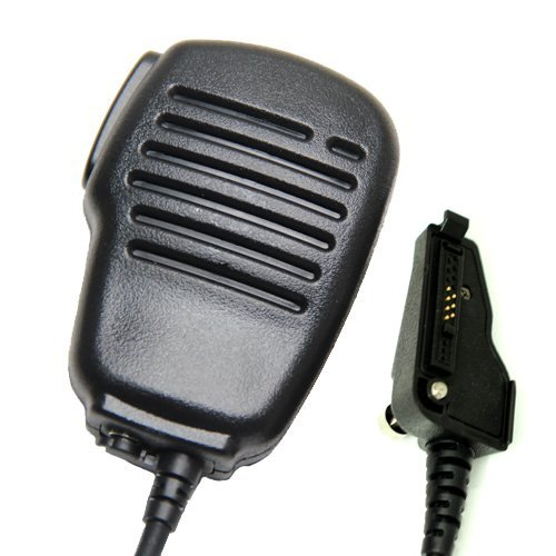 Rainproof Shoulder Remote Speaker Mic Microphone Ptt For Multi-Pin Kenwood Radio