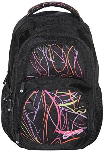 Genius Genius Black Backpack(GN Back Pack 1403_BLK)
