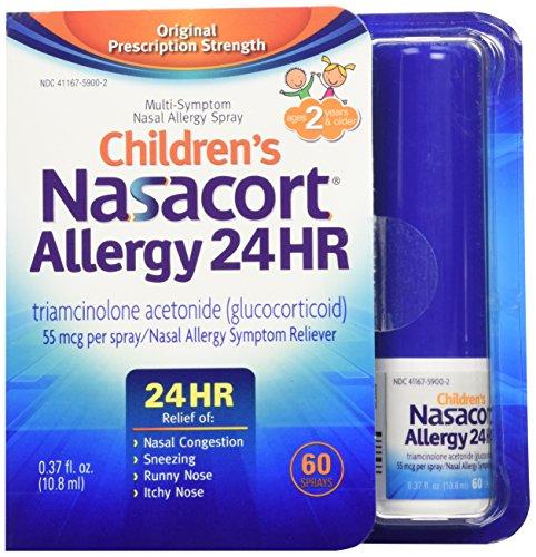 Nasacort Children's Allergy Spray, 0.37 Fluid Ounce (Kids Nasal Spray compare prices)