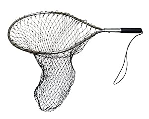 Frabill wade net tear drop hoop with 8 inch for Drop net fishing