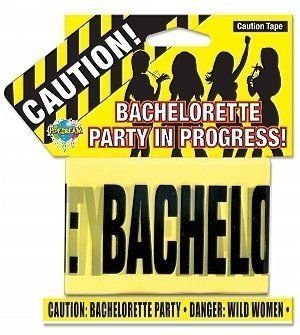 Bachelorette Party Caution Tape (Package Of 2)
