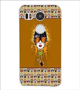 PrintDhaba Cartoon D-3171 Back Case Cover for LG NEXUS 5X (Multi-Coloured)