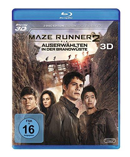 Maze Runner 2: Die Auserwählten in der Brandwüste [3D Blu-ray]