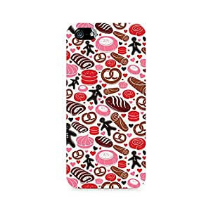Mobicture Bakery Love Premium Printed Case For Apple iPhone 5/5s