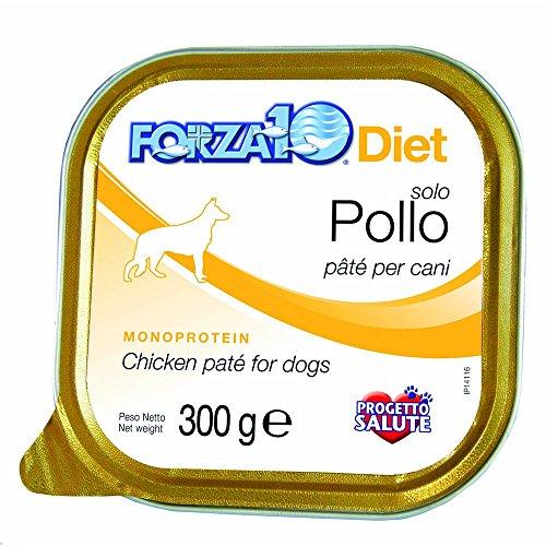 FORZA 10 Forza10 diet solo pollo 100gr - Alimenti umidi monoproteici per cani