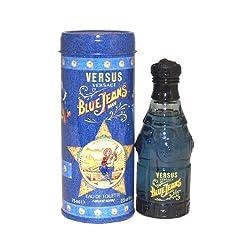 Versus Blue Jeans By Gianni Versace For Men Eau De Toilette Spray 2.5-Ounces