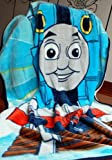 Thomas The Train Coral Fleece Soft Plush Blanket about 152 X 203CM