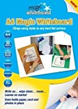 Magic Whiteboard Letter-sized Sheets - 20 Static Cling Dry Erase Sheets