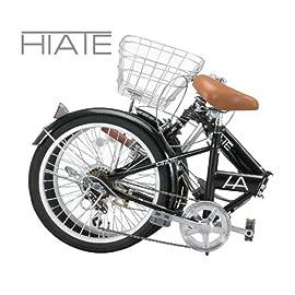 HIATE(ハイエイト) 20インチシマノ6段変速折りたたみ自転車