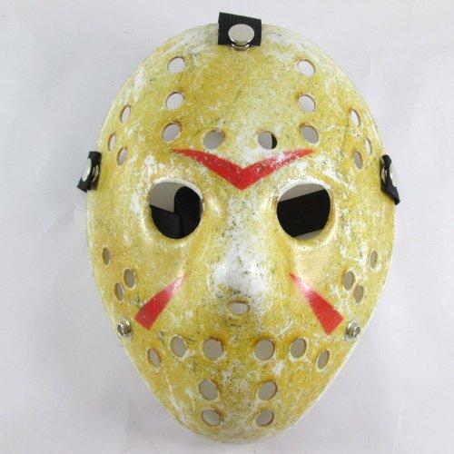 """OMO """"Friday the 13th Part3 VS. FREDDY JASON Hockey Mask-Maschera Halloween Horror"""
