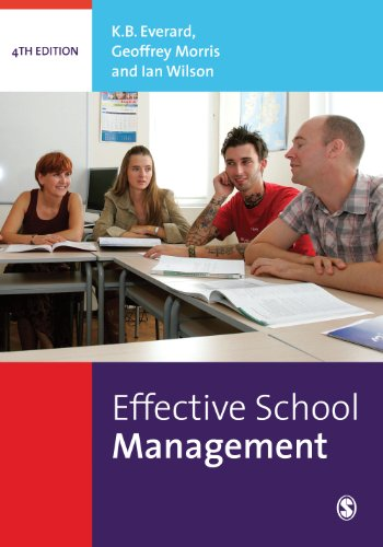managing a school effectively The performance indicators for effective principal leadership in improving student a principal must demonstrate to effectively lead a school in.