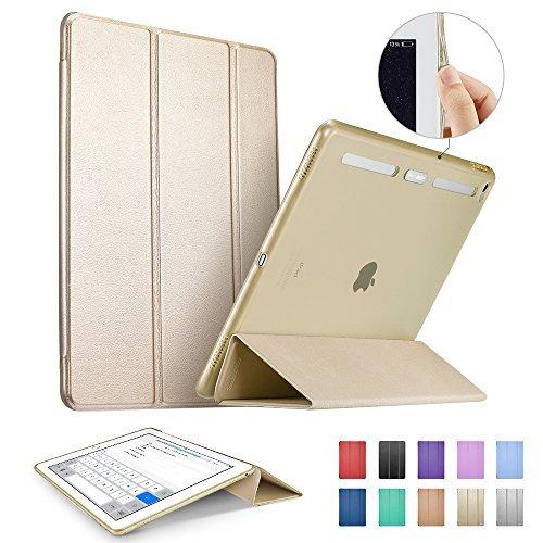 iPad Pro Case, ESR Soft TPU Bumper Edge Slim Fit Smart Case Cover with Auto Sleep/Wake for Apple iPad Pro/ iPad 7th Generation 12.9 inches (2015 Edition)_Champagne Gold