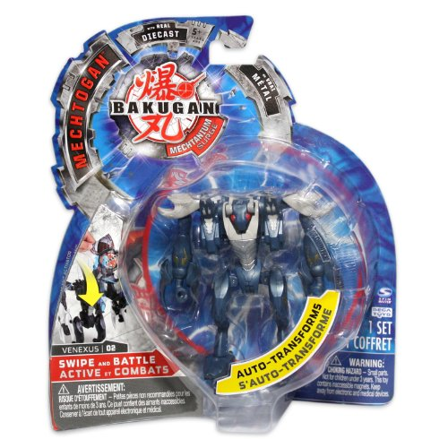 Bakugan Mechtogan Venexus (Colors and Styles May Vary)