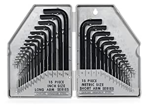 Generic 30 Pc Allen Wrench Set- SAE/ MM - - Amazon.com