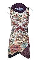 SMASH: Robe sans manche col roulé asymétrique taille XL fin de collection