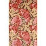 Floral furnishing fabric, by Sylvia Priestley (V&A Custom Print)