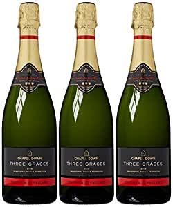 Chapel Downs Brut Three Graces 2008 Sparkling Wine 75 cl (Case of 3)