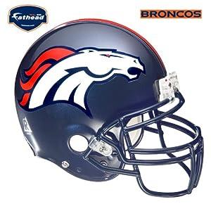 Fathead Denver Broncos Helmet Wall Decal by Fathead