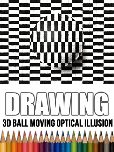 Clip: Drawing 3D Ball Moving Optical Illusion on Amazon Prime Video UK